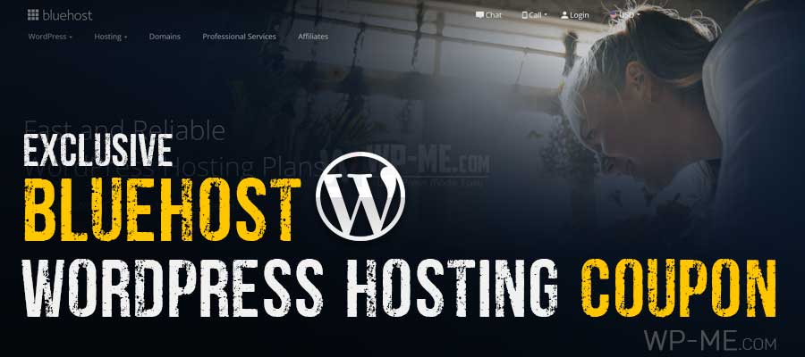 Bluehost WordPress Hosting Coupon