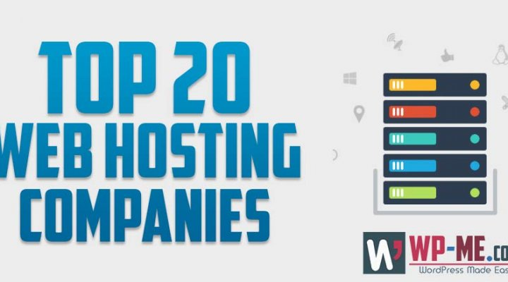 Top 20 Web Hosting Companies