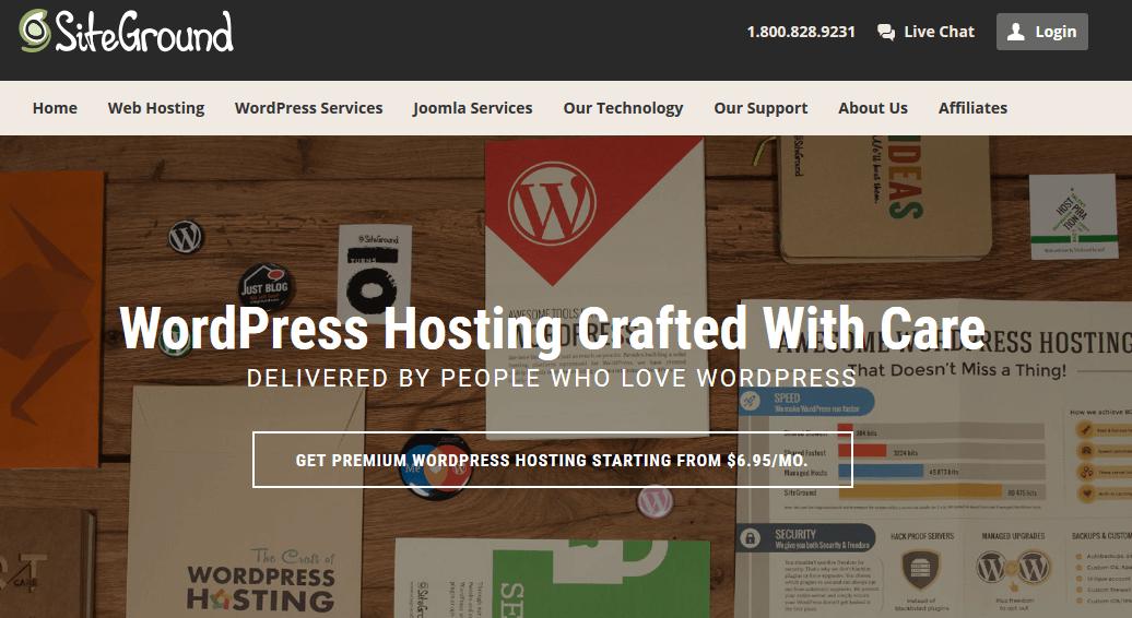 SiteGround WordPress Hosting - SiteGround Review