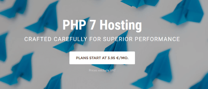 SiteGround PHP 7 Hosting