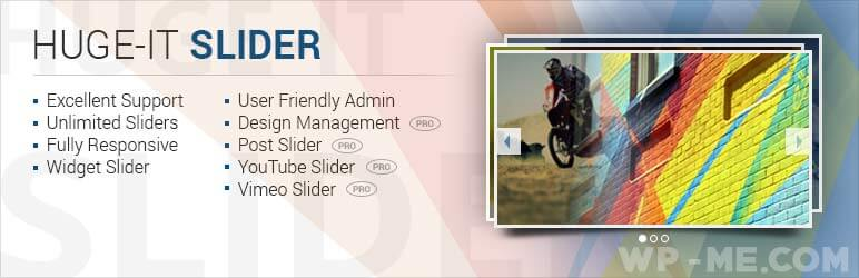 Huge-IT WordPress Slider Plugin