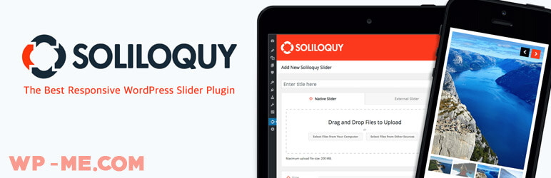 Responsive WordPress Slider - Soliloquy Lite
