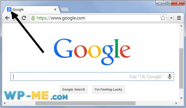 Example of Favicon