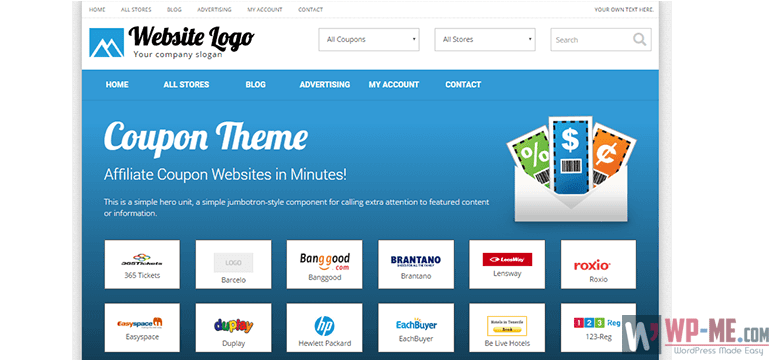 PremiumPress Coupon Theme