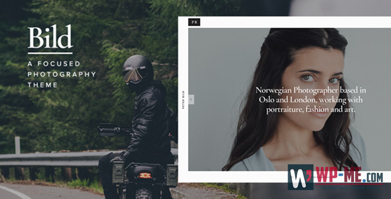 Bild WordPress Photography Theme