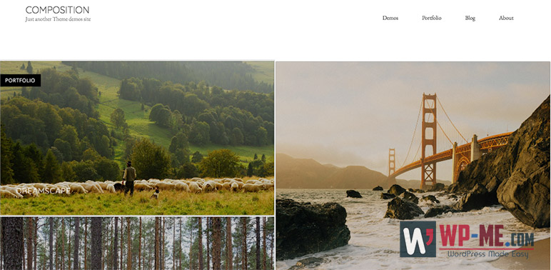 Composition WordPress Theme