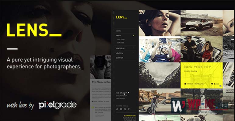 LENS Photography WordPress Theme