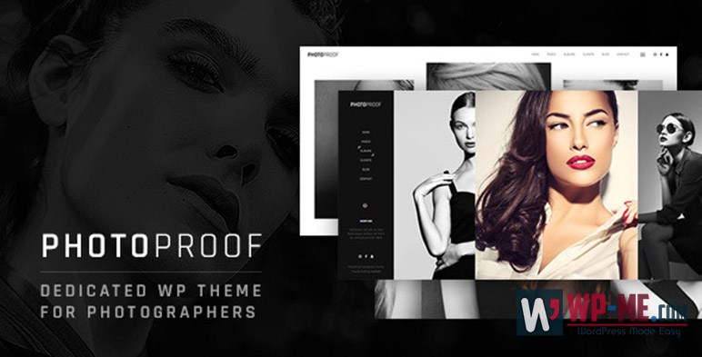 PhotoProof Photography Responsive WordPress Theme